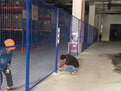 英德车间护栏网定做 仓库安全护栏 东莞车间设备围栏包安装
