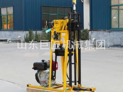 巨匠集团小型轻便液压百米钻50米岩心勘探取样钻机柴油机动力