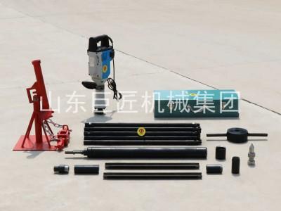 巨匠直供20米便捷式电动取土钻机勘探取样钻机速度快