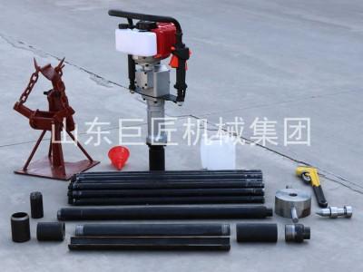 20米取土钻机qtz-3野外取土样器单人可操作携带方便
