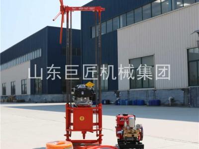 巨匠25米岩心勘探钻机QZ-2B汽油型轻便取样钻机野外可用