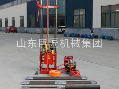 6HP汽油机30米岩心取样钻机QZ-2CS卷扬款地质勘探钻机