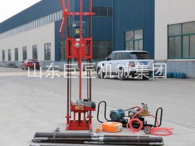 巨匠集团高效率取样岩心勘探钻机30米电动取心钻机效率高