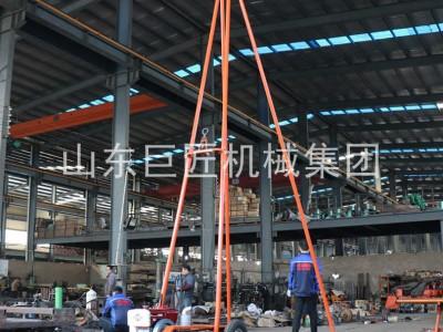 高效率30米砂金探矿钻机SH30-2A工程勘察钻机配件齐全