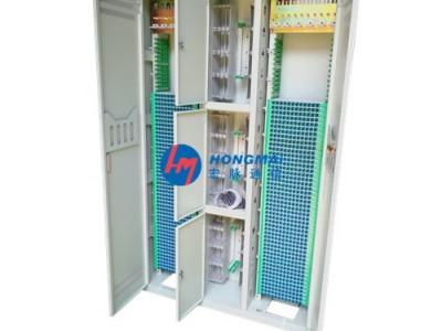 1440芯三网合一光纤配线架安装示意图