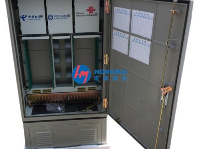 288芯三網融合光交箱SC配置設計