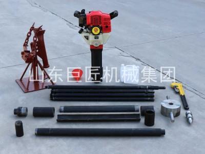 热销QTZ-1小型土壤取样器轻便地质勘探钻机冲击式取土钻机