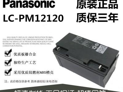 松下12V120AH铅酸免维护蓄电池LC-PM12120