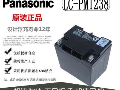 松下蓄电池LC-PM1238铅酸免维护12V38AH