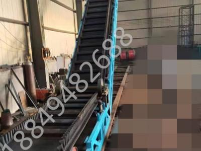 大倾角皮带输送机 波浪挡边带式输送机 爬坡上料传送带