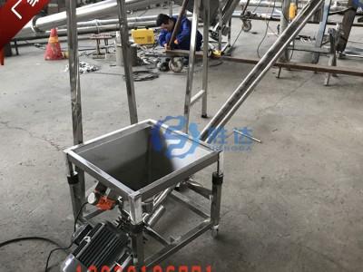 白城面粉螺旋上料机不锈钢蛟龙输送机304材质厂家定制