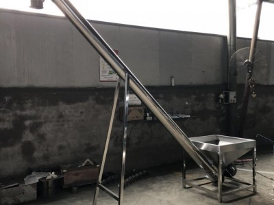 长春滑石粉螺旋上料机不锈钢蛟龙上料机厂家直销工作高