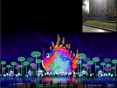 编制灯光节花灯灯组竞争美陈设计高品质