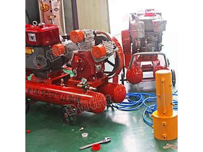 多功能手扶式防汛抢险打桩机 防汛打桩机 高频打桩机