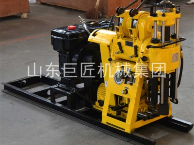 HZ-130Y液压岩心钻机野外地质勘探钻机百米钻孔轻松取岩样