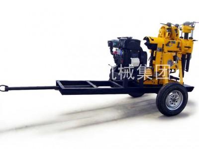 XYX-130Y轮式液压钻机百米打孔岩心取样大型野外凿岩机械