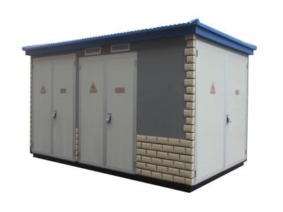 富杰箱变 专业订制欧式 美式箱式变电站 YBW-12户外箱变