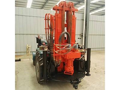 恒旺200米气动钻机 拖拉机改装气动水井钻机 打井机