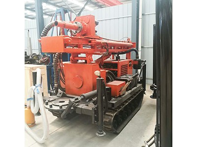 HQZ-180L履带式气动水井钻机 家用气动打井机 钻井机