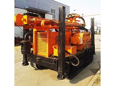 气动潜孔钻机 HQZ系列履带水井钻机 260米履带钻机