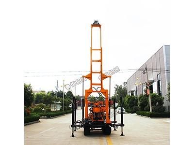 HW-230L履带式液压水井钻机 200米地质勘探岩心钻机