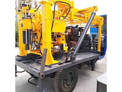 HW-160S轮式液压水井钻机 百米地质勘探钻机 打井机