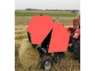 移动式玉米秸秆液压打包机  青秸秆粉碎打捆包膜机
