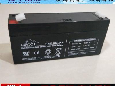 理士蓄电池DJW6-3.2 6V3.2AH儿童玩具车专用