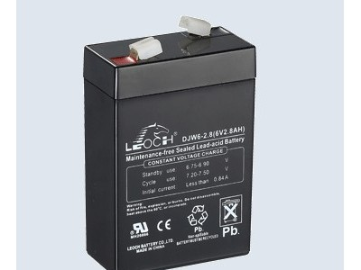 理士蓄电池DJW6-2.8 6V2.8AH儿童玩具车专用