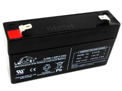 理士蓄电池DJW6-1.2 6V1.2AH儿童玩具电子秤