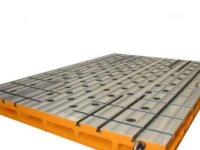 重庆工件固定是不是必须选择铸铁T型槽平台T型槽工作台