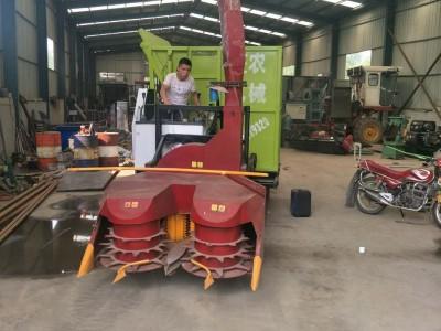 二手履带式玉米秆收割青贮机改装厂家