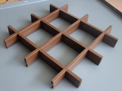 仿木纹铝格栅|铝格栅吊顶厂家批发