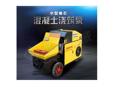 济宁二次构造输送泵可实现远距离、高层输送