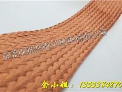 高柔软铜丝编织网套,镀锡铜编织屏蔽网套种类
