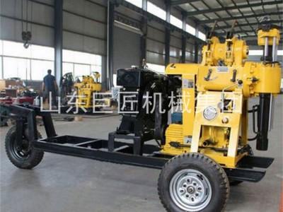 華夏巨匠XYX-130輪式液壓巖芯鉆機地質勘探百米鉆機