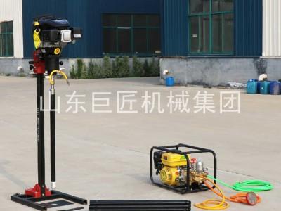 爆款BXZ2L立架式背包钻机 轻便地质勘探取样工具钻孔取芯机