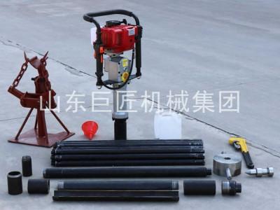 巨匠集团直供20米取土钻机qtz-3野外取土样器单人可操作