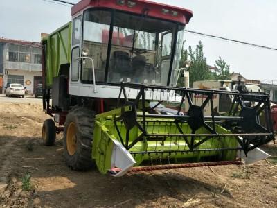 大型背负式玉米秆收割机 四轮驱动玉米秆收获机
