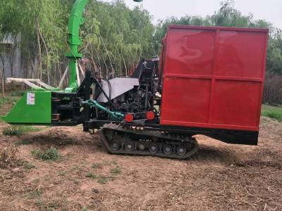 高速转盘式秸秆青储机厂家 大型履带式牧草粉碎青贮机