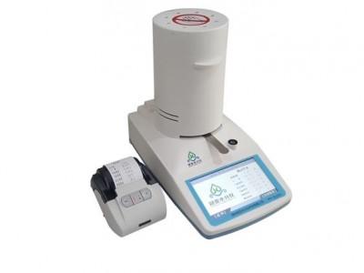 藜麦含水率检测方法_粮食水分测定仪打印机功能