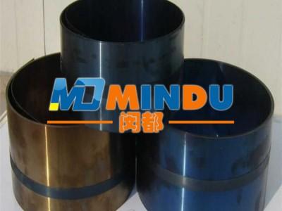 德国进口弹簧钢带批发 免费分条65Mn弹簧钢带发蓝