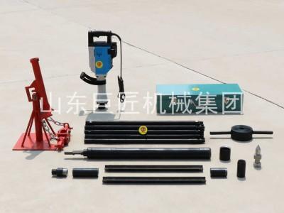 巨匠直供20米便捷式电动取土钻机 勘探取样钻机 钻孔速度快