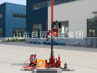 地質工程鉆機QZ-3型輕便取樣鉆機8HP柴油機動力