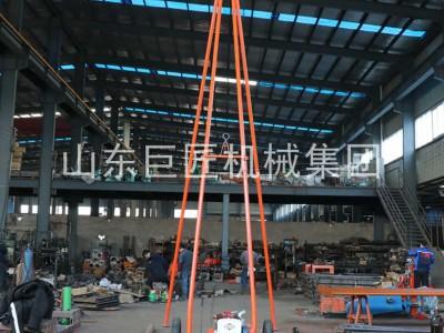 巨匠直供30米砂金探礦鉆機SH30-2A沙土取樣工程勘察鉆機
