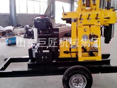 轮式液压钻机 200米岩心钻机  XYX-200地质勘探钻机