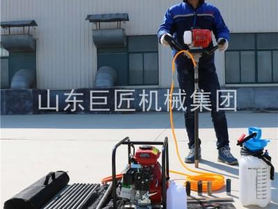 巨匠集團提供BXZ-1型單人手持鉆機取樣鉆機輕便易操作