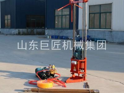 巨匠集團提供QZ-2A型三相電便攜式取樣鉆機巖石鉆孔取心機