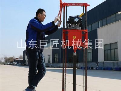 巨匠集團提供QZ-2B勘探巖芯鉆機輕便取心鉆機體積小重量輕