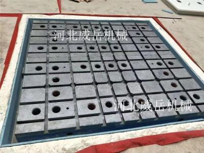 河北威岳机械作为铸铁平台厂家对铸铁划线平台精度保障全面解释